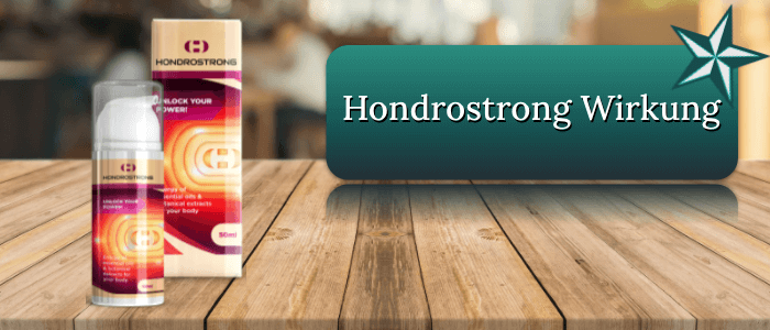 Hondrostrong Wirkung